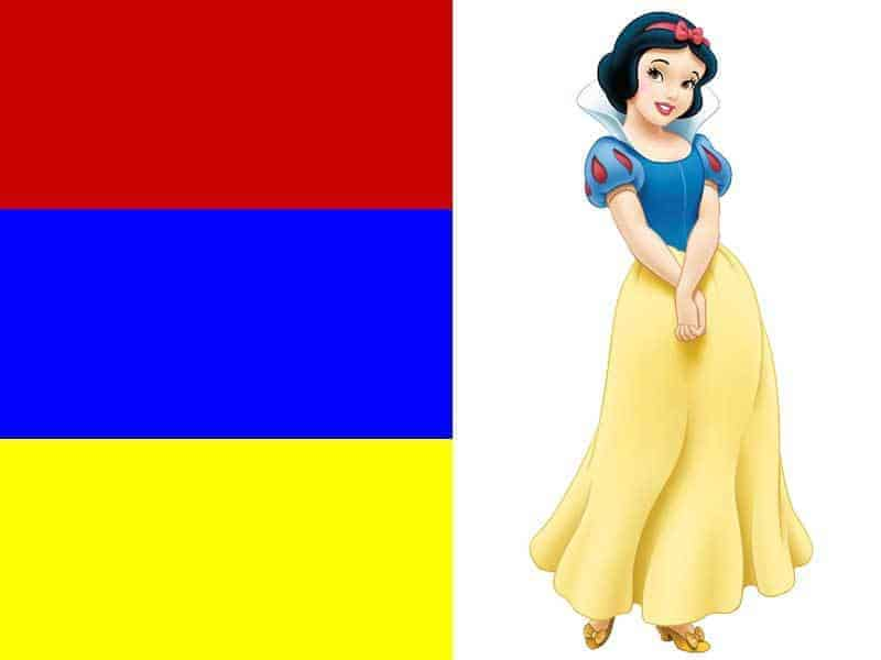Snow White Disneybound Color Guide