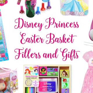 25+ Disney Princess Easter Basket Fillers and Gifts