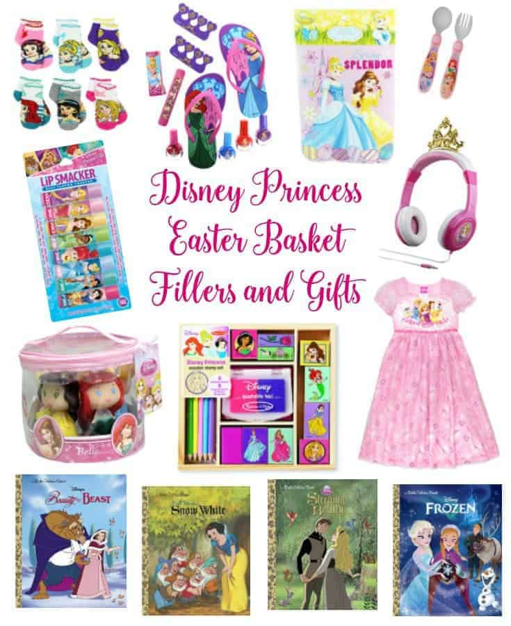 Disney Princess Easter Basket Fillers and Gifts