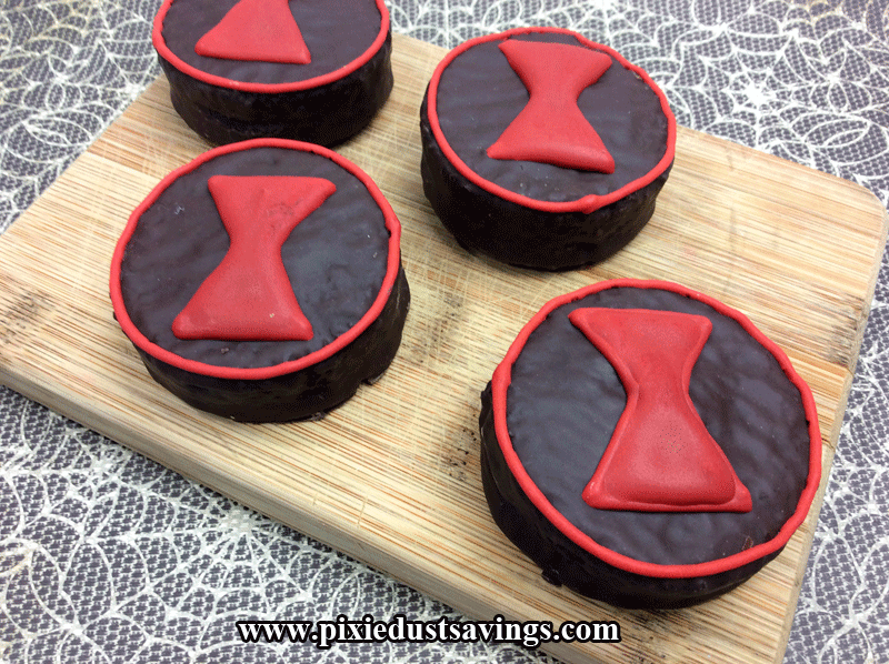 Marvel's Black Widow Inspired Treats